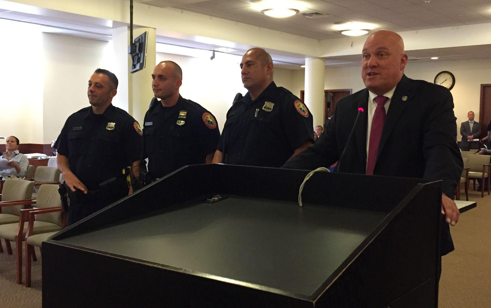 Nassau Legislature Honors Officers For Response To