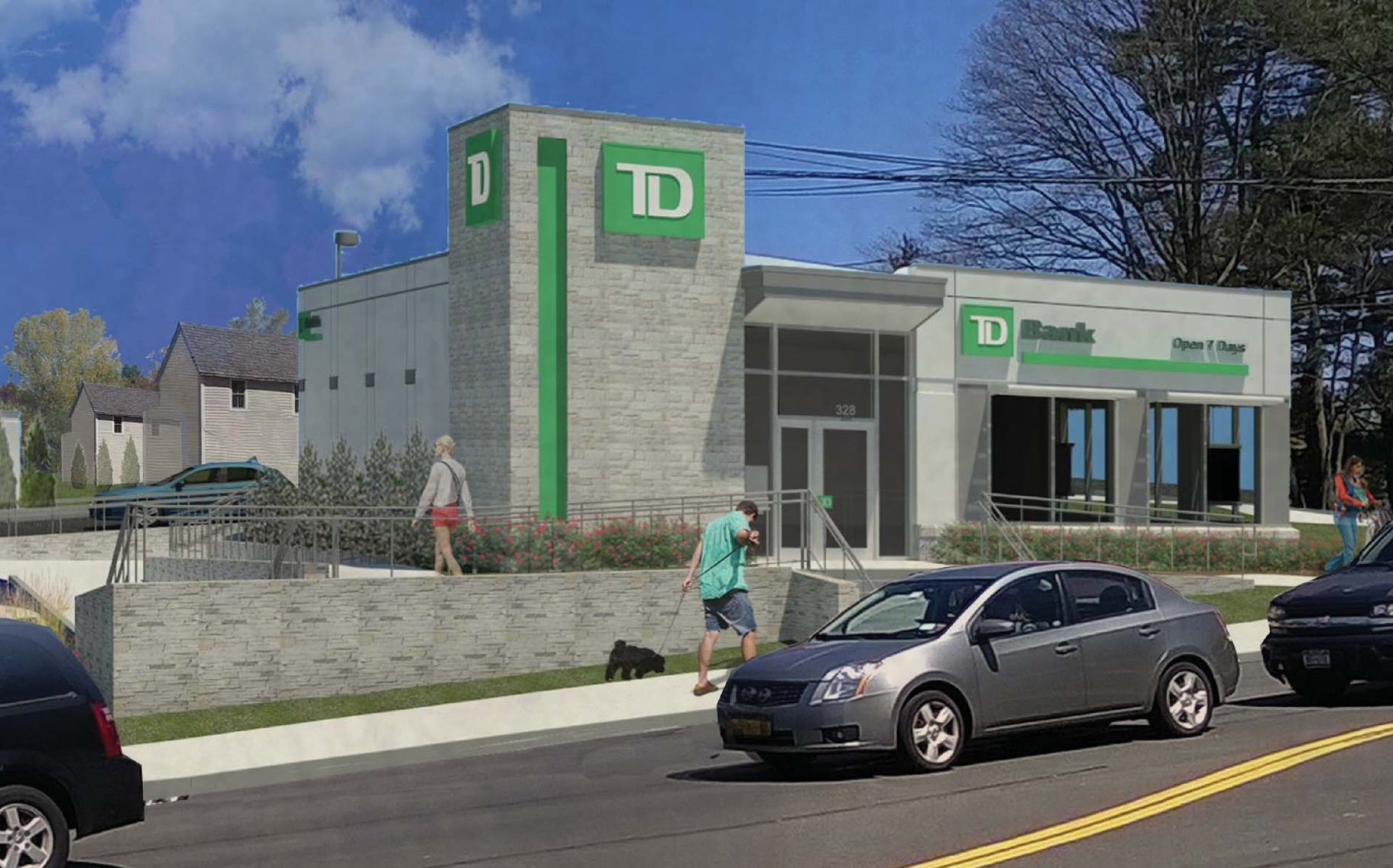 council objects to td bank design the island now. Black Bedroom Furniture Sets. Home Design Ideas