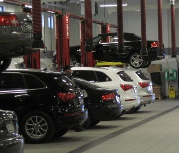 Biener Audi Opens High Tech Service Center The Island Now