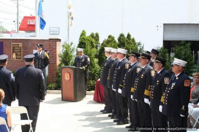 Gcp Fd Honors Its Dead With Monument The Island Now