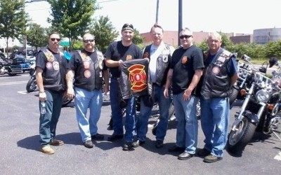 red knights motorcycle club rides for good causes the