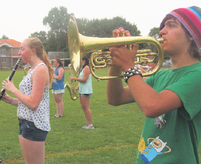 an introduction to the first week of marching band camp Marching band the upper arlington  preparation for the fall season begins in early august with one week of band camp  first year members will experience new.