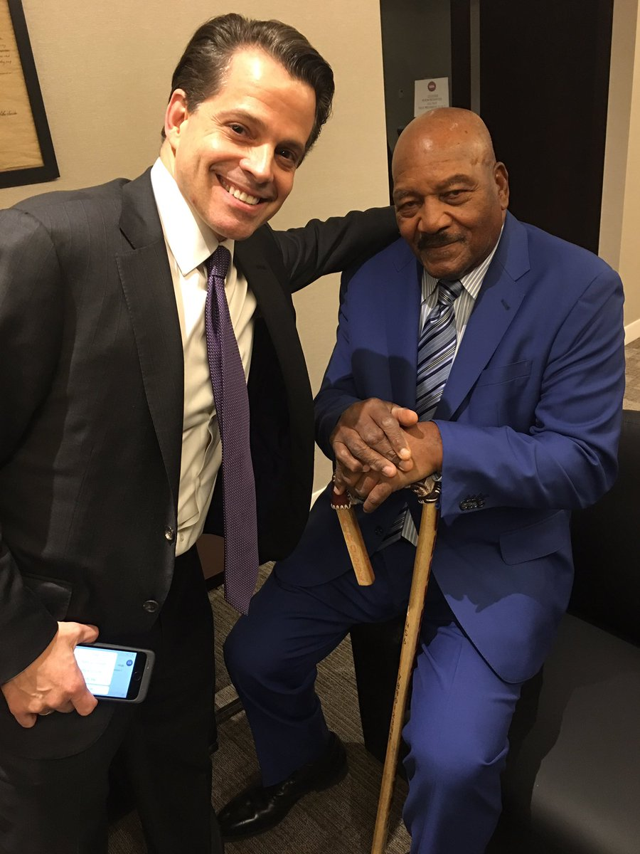 Trump tweets support for Jim Brown event