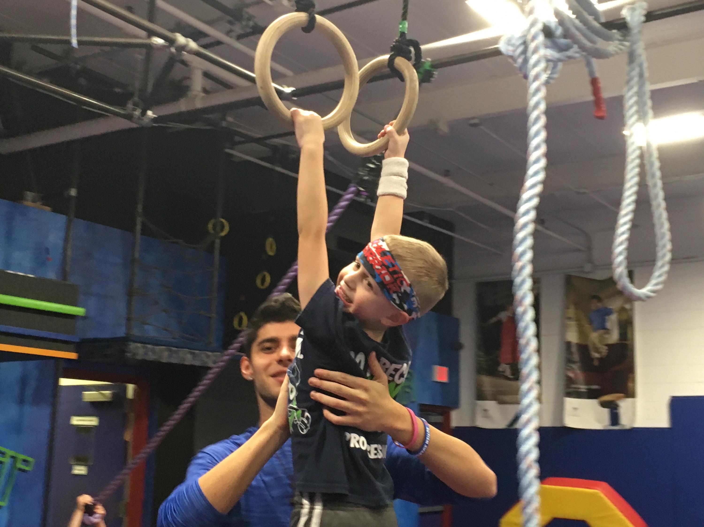 Gym program molds kids into 'ninja warriors'