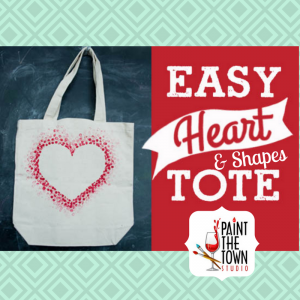Paint the Town tote bags
