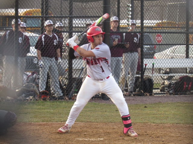 Floral Park catcher Justin Rahaman (Photo by Gregory Giaconelli)