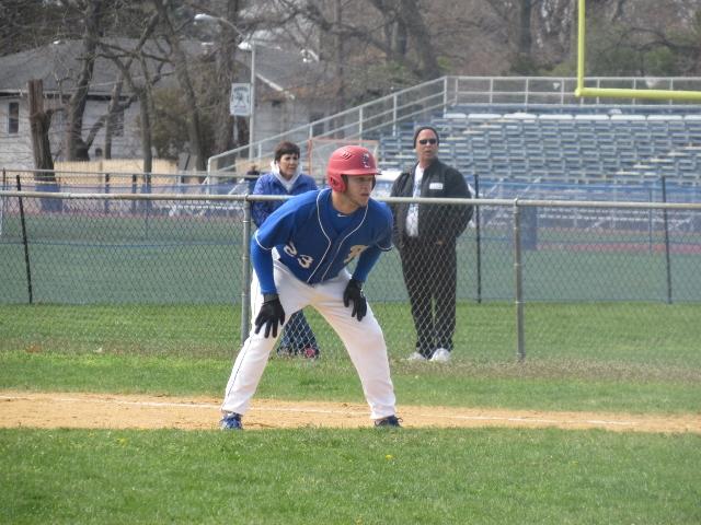 Herricks outfielder Brian Diaz (Photo by Gregory Giaconelli)