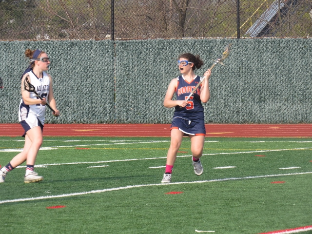Great Neck North midfielder Ariella Lerner (Photo by Gregory Giaconelli)