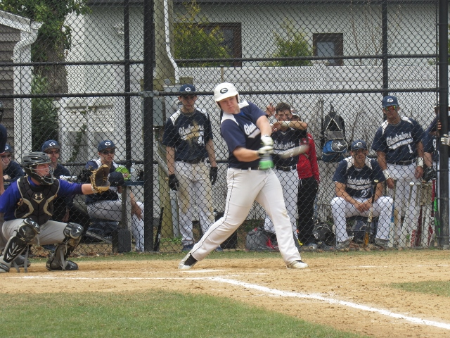 New Hyde Park designated hitter Matt Rowinsky (Photo by Gregory Giaconelli)