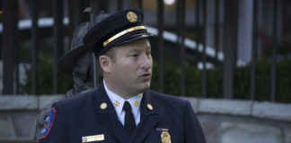 Vigilant Fire Chief Joshua Forst