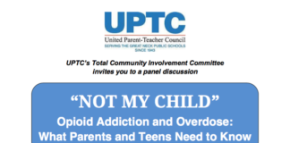 Opioid addiction forum flier