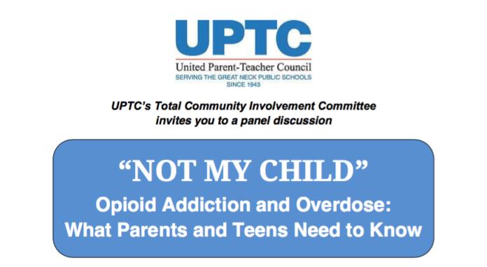 Opioid addiction forum flier
