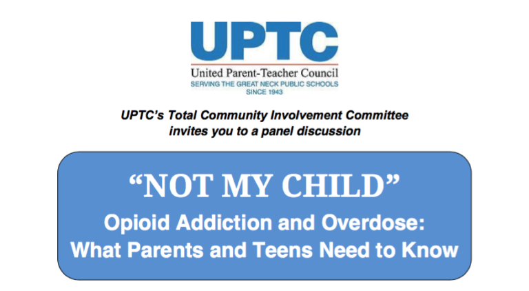 Great Neck UPTC hosting opioid forum on Nov. 1 at library