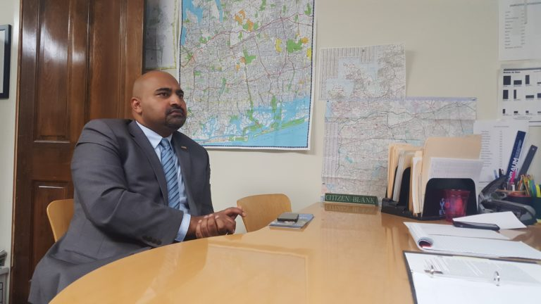 Garden City Park native runs against incumbent Ferrara for town council