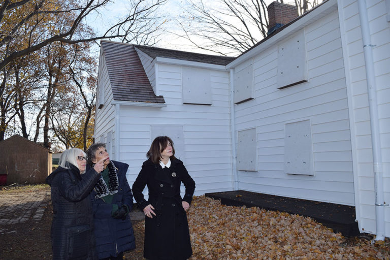 Town making moves on historic Schumacher House