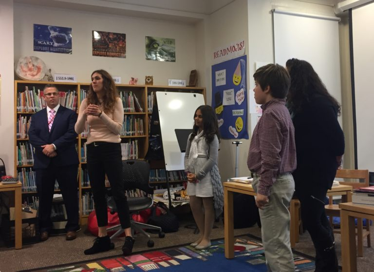 East Williston brings technology to the classroom