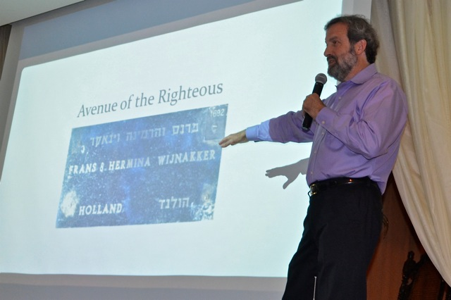 Brounstein shares the story of two Holocaust heroes at Temple Tikvah