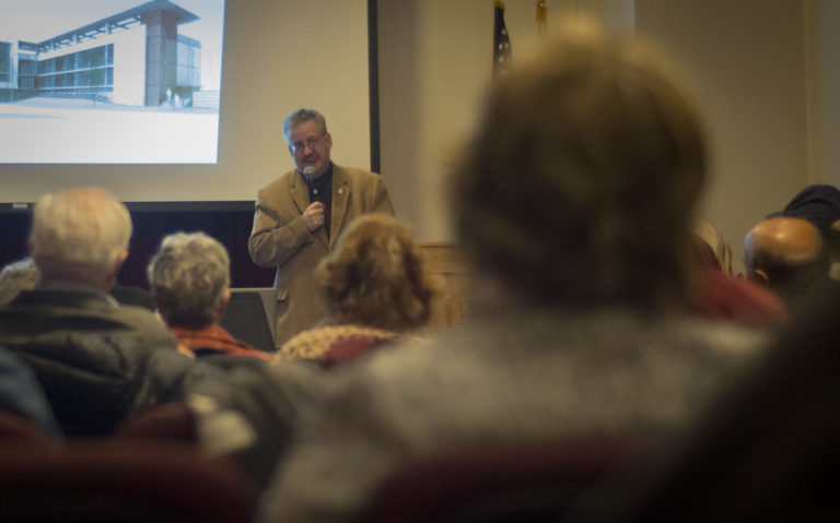 Joshua Smith brings merchant marines to a Great Neck audience