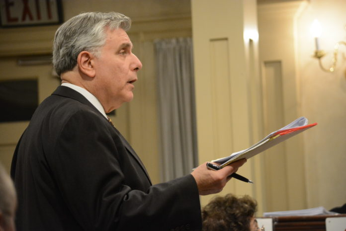 Paul Bloom, a lawyer for Old Mill 2 LLC, has spoken many times before the Great Neck Estates Board of Trustees. (Photo by Janelle Clausen)