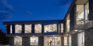The Great Neck Library's Main Branch underwent major renovations, trustees and project managers said, both interior and exterior. (Photo courtesy of KG+D Architects, PC and David Lamb Photography)