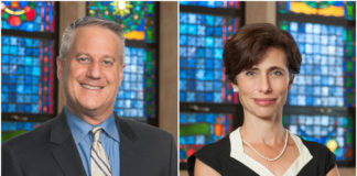Rabbis Meir and Tara Feldman were recently signed onto a 10-year contract with Temple Beth-El. (Photos courtesy of Temple Beth-El of Great Neck)
