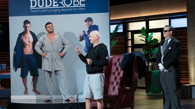 8107636efb Dude Robe founder seeks retail deal after  Shark Tank  spot - The ...