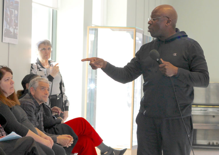 Congregants push for prison system reform with solitary confinement art exhibit