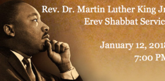 Temple Beth-El of Great Neck will be hosting a Martin Luther King Jr. Shabbat service on Friday, Jan. 12 at 7:00 p.m. (Photo courtesy of Temple Beth-El)