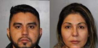 Francisco Perez and Sandra Parra were arrested for the alleged possession of more than 20 pounds of meth. (Photo courtesy of New York State Police)