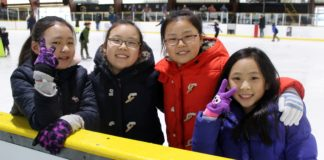 Join us on Sunday for the Lunar New Year Celebration at the Andrew Stergiopoulos Ice Rink. (Photo courtesy of the Great Neck Park District)