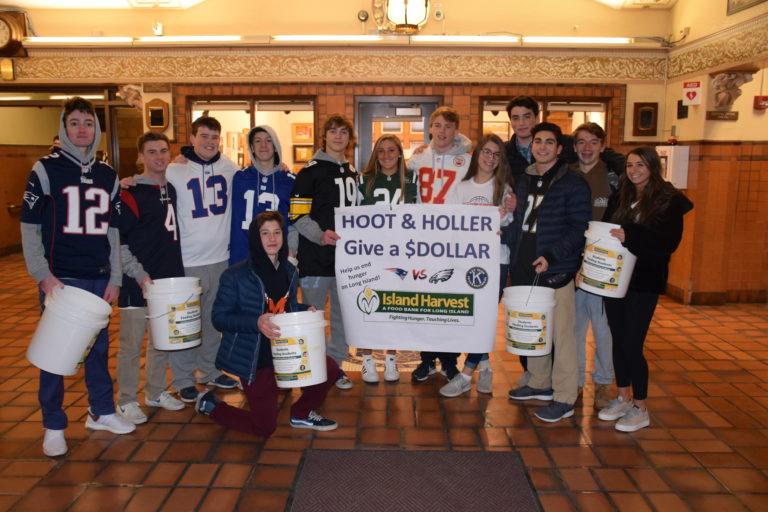 Manhasset donations score more than touchdowns
