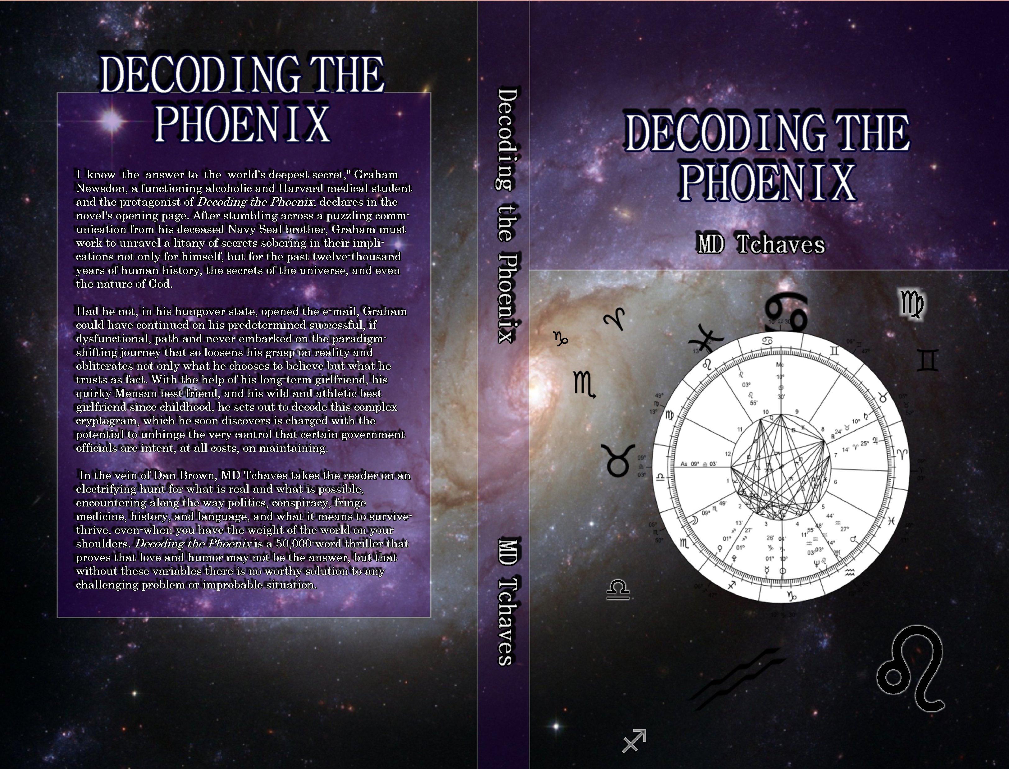 Astrology inspires thriller trilogy novel for Long Island native author