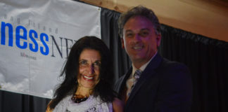 Edna Mashaal, the head of Edna Mashaal Realty, was honored by Long Island Business News for being the top owner/broker for production in Nassau County. (Photo by Janelle Clausen)