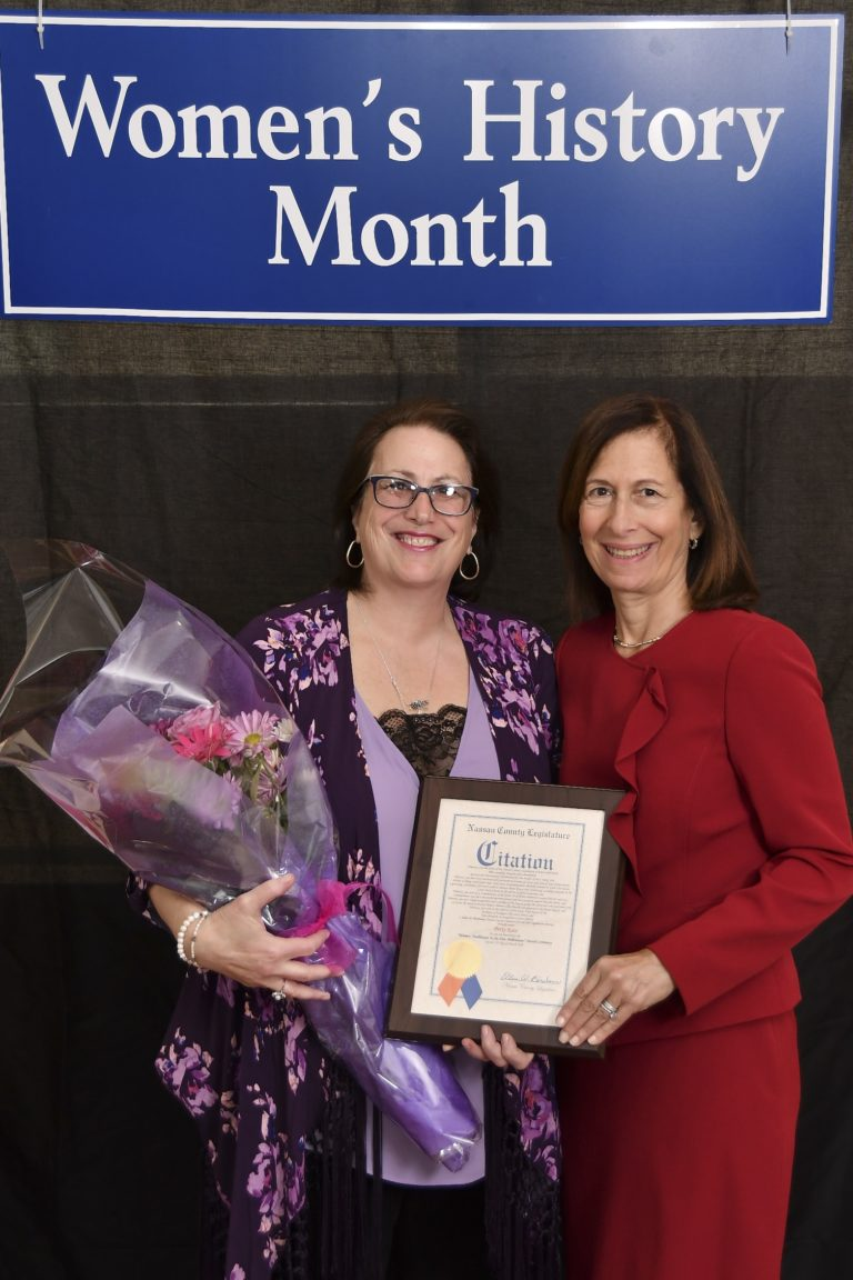 Commissioner Katz honored by county as woman trailblazer
