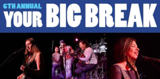 Round 2 of Your Big Break will take place on March 10 at the Gold Coast Arts Center. (Photo courtesy of the Rick Eberle Agency)