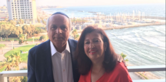 Manoucheher and Lida Edalati, longtime Great Neck Estates residents, have opened their home up to the community. (Photo courtesy of the Town of North Hempstead)