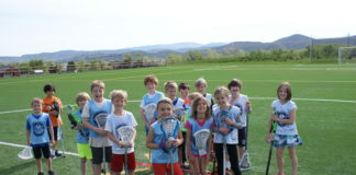 The Great Neck Park District is offering a new lacrosse program to introduce children, ages 3 to 12, to the sport. (Photo courtesy of the Great Neck Park District)