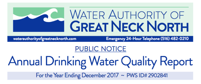 Great Neck North water quality report shows no violations