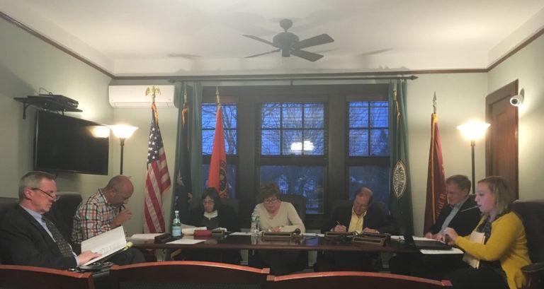 Baxter Estates adopts $802K budget