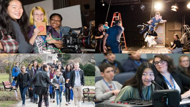 Students participate in Hofstra University and Gold Coast International Film Festival's inaugural