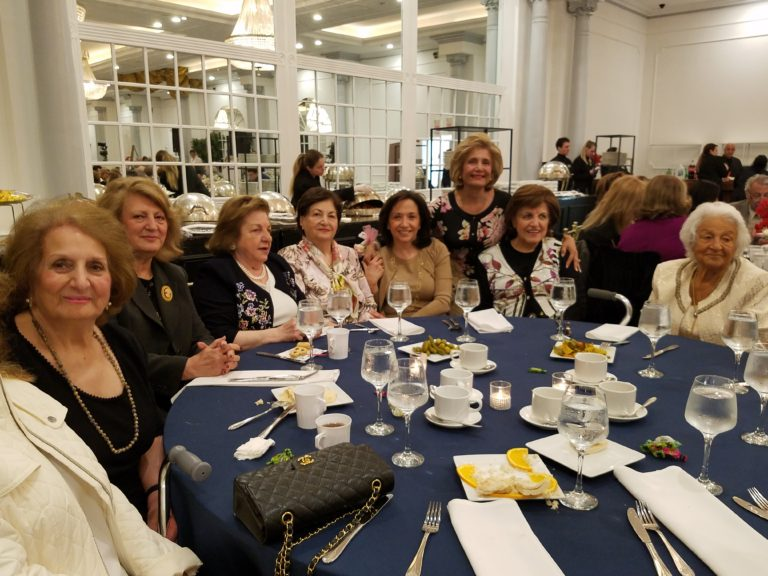SHAI hosts Mother's Day luncheon for seniors at synagogue