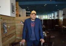 Barney Villalona, the new manager of Element Seafood, said he hopes to add to a quality seafood restaurant. (Photo by Janelle Clausen)
