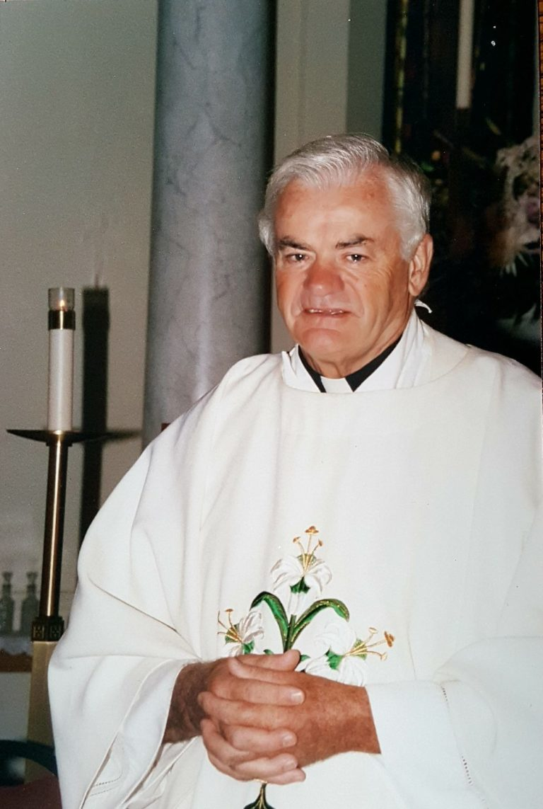 Father Patrick Whitney reflects on 50 years with the church
