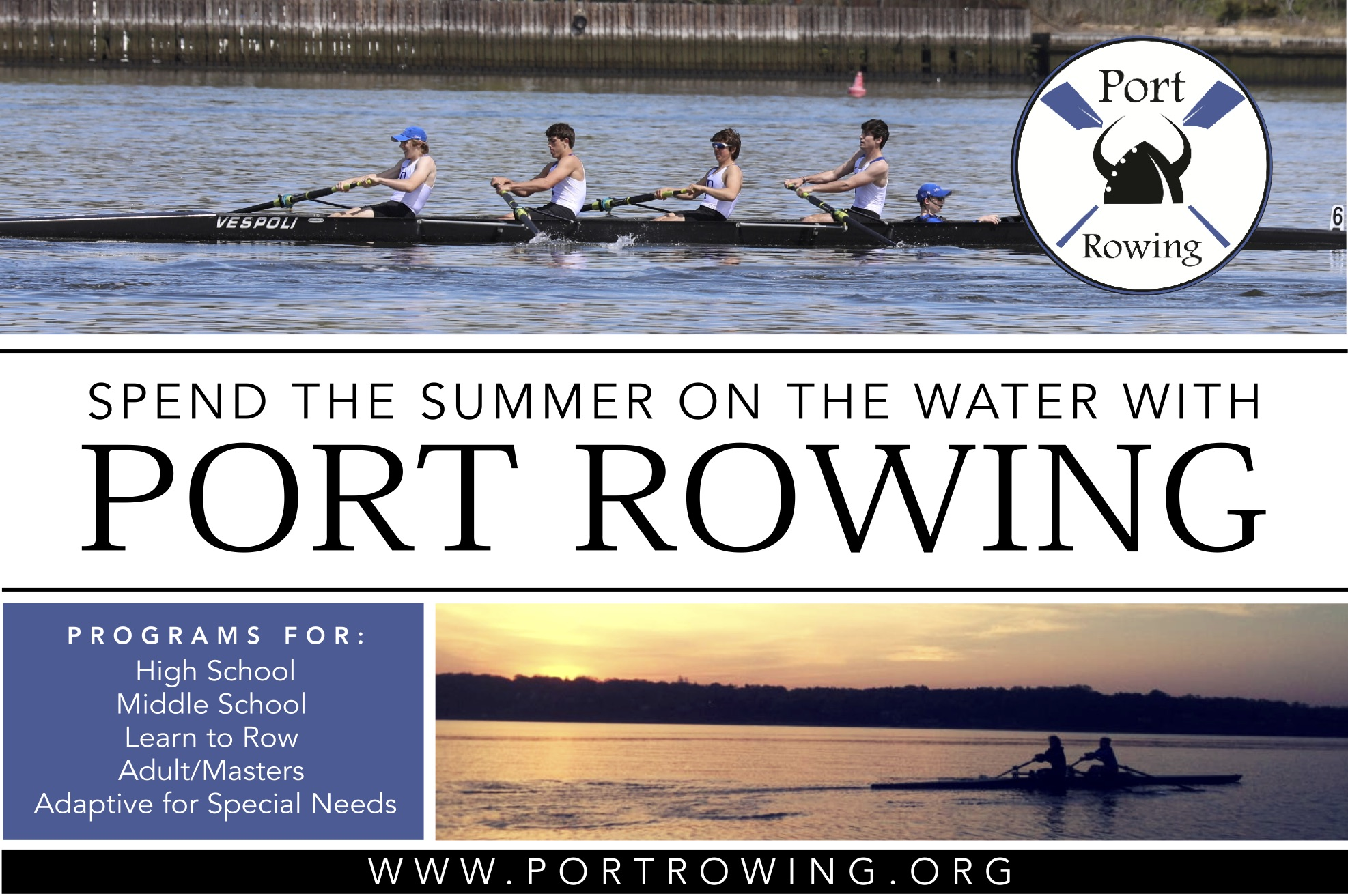 Spend The Summer On The Water With Port Rowing Community News