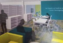 The Station branch library will be getting a makeover. (Photo courtesy of MDA designgroup)