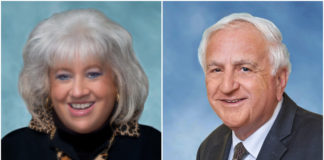 Barbara Berkowitz and Donald Ashkenase are both running for re-election to the Great Neck school board. No other candidates filed petitions. (Photos courtesy of the Great Neck Public Schools)
