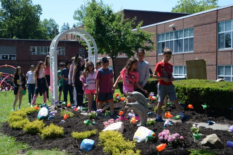 Saddle Rock student lives on through renovated memorial garden