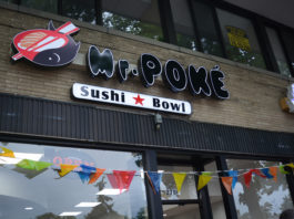 After more than a year of preparation, Mr. Poké has officially opened for business. (Photo by Janelle Clausen)