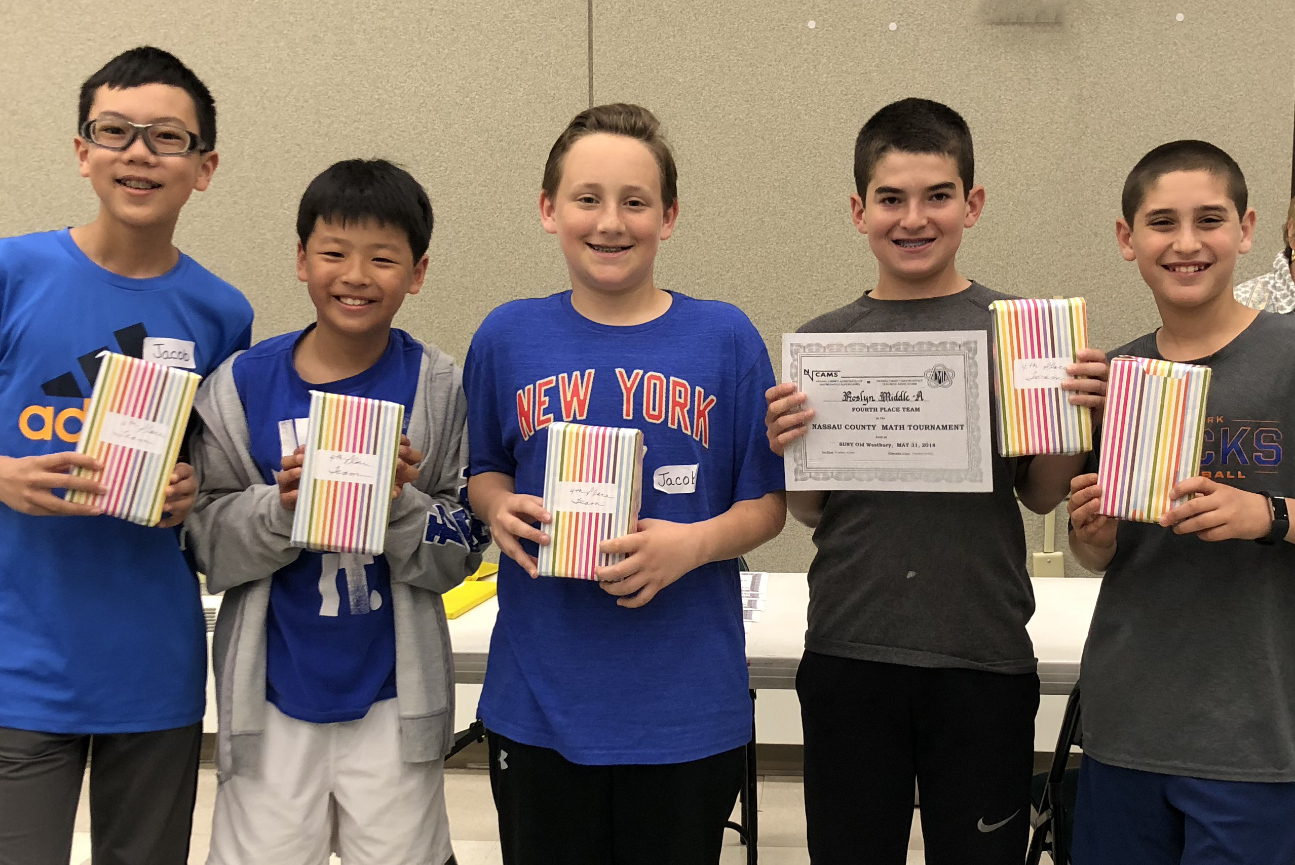 Roslyn students make mark in math olympiad tournament - Community
