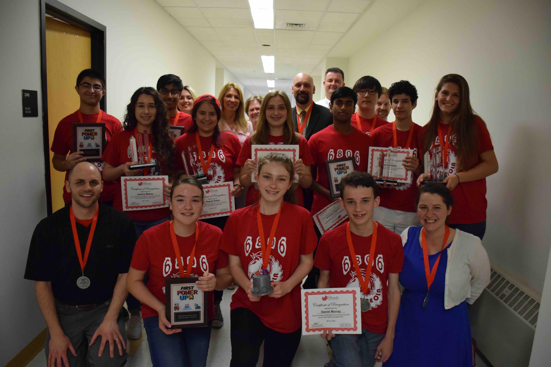 Mineola Board Of Education Honors Robotics Team Community News